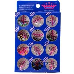 конфетти (камифубики) для ногтей (набор)дизайн - фото 5144