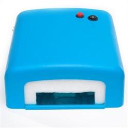 УФ лампа для ногтей КТ-818 (36 Вт) Голубая - фото 6164