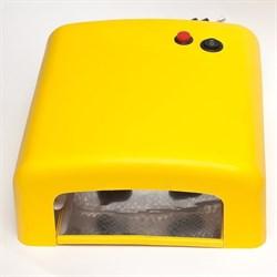 УФ лампа для ногтей КТ-818 (36 Вт) Желтая - фото 6204