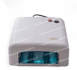 УФ лампа для ногтей 318 a-b (36 Вт) Белая - фото 6211
