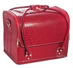 сумка маникюрная средняя, объёмная фактура. экокожа. - фото 6343