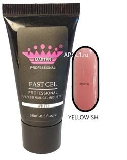 Акриловый гель . Polly gel  Цвет Yellowish - фото 6509