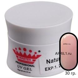 Гель для наращивания Natural   30 грамм . Master Professional. - фото 6514