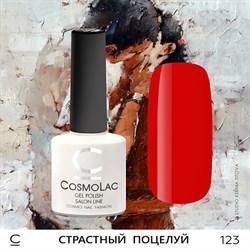 """Гель-лак """"CosmoLac"""" СТРАСТНЫЙ ПОЦЕЛУЙ #123 - фото 6790"""