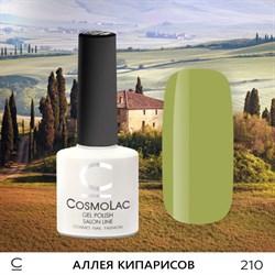 """Гель-лак """"CosmoLac"""" АЛЛЕЯ КИПАРИСОВ №210 - фото 6878"""