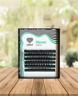 Ресницы чёрные Lovely серия 6 линий MINI MIX ,изгиб L 8-11 10-14 - фото 7313
