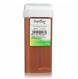Тёплый воск в картридже Шоколад. Depilflax. 110 грамм - фото 7629