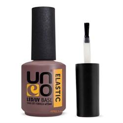 Uno Base Elastic. Базовое покрытие для гель-лака Уно 15 мл. - фото 7671