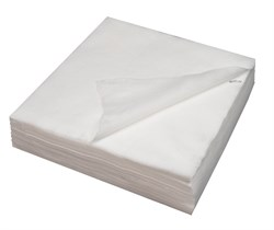 Салфетки одноразовые в сложении 40/40 см. 100 штук Спанлейс - фото 7700