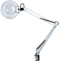 Кольцевая лампа лупа SD-2021Т настольная. - фото 7708