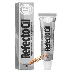 REFECTOCIL Краска для бровей и ресниц № 1.1 Графит. 15 мл. - фото 7770
