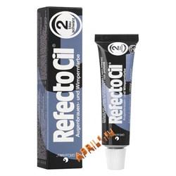 REFECTOCIL Краска для бровей и ресниц № 2 Чёрно - синяя. 15 мл. - фото 7771