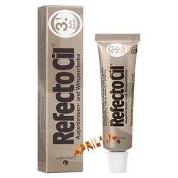 REFECTOCIL Краска для бровей и ресниц № 3. 1 светло - коричневый. 15 мл. - фото 7773