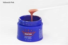 Гель для наращивания Master Professional.камуфляжный бежево-розовый.(Yellowish pink)