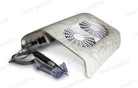 2/1 вытяжка маникюрная с двумя вентиляторами + фрезер