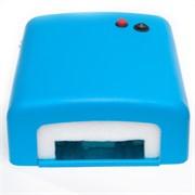 УФ лампа для ногтей КТ-818 (36 Вт) Голубая