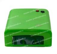 УФ лампа для ногтей 318 a-b (36 Вт) Зелёная