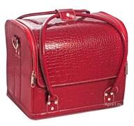сумка маникюрная средняя, объёмная фактура. экокожа.