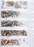 Стразы для ногтей МИКС ЦВЕТОВ. НАБОР - 6 размеров - 1440 штук