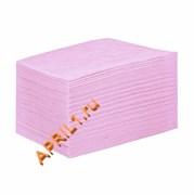 Полотенце 35х70 см 50г/м2.Розовое текстурное 50 штук.